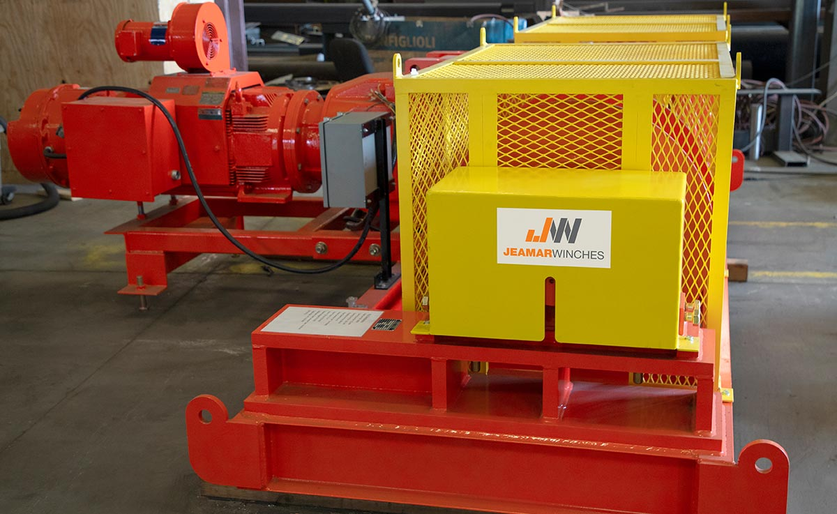 Why Jeamar is a Market Leader for Industrial Winches