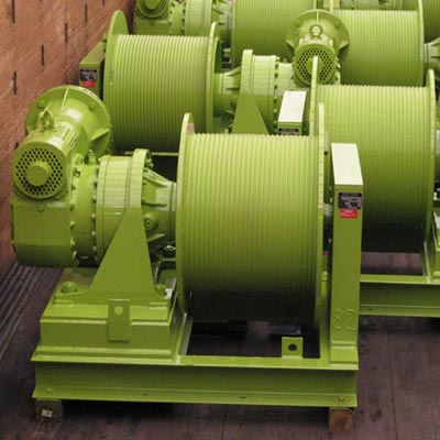 Luffing/Shuttle Winches
