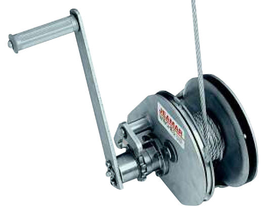 Stainless Steel ConsoleMount Winch